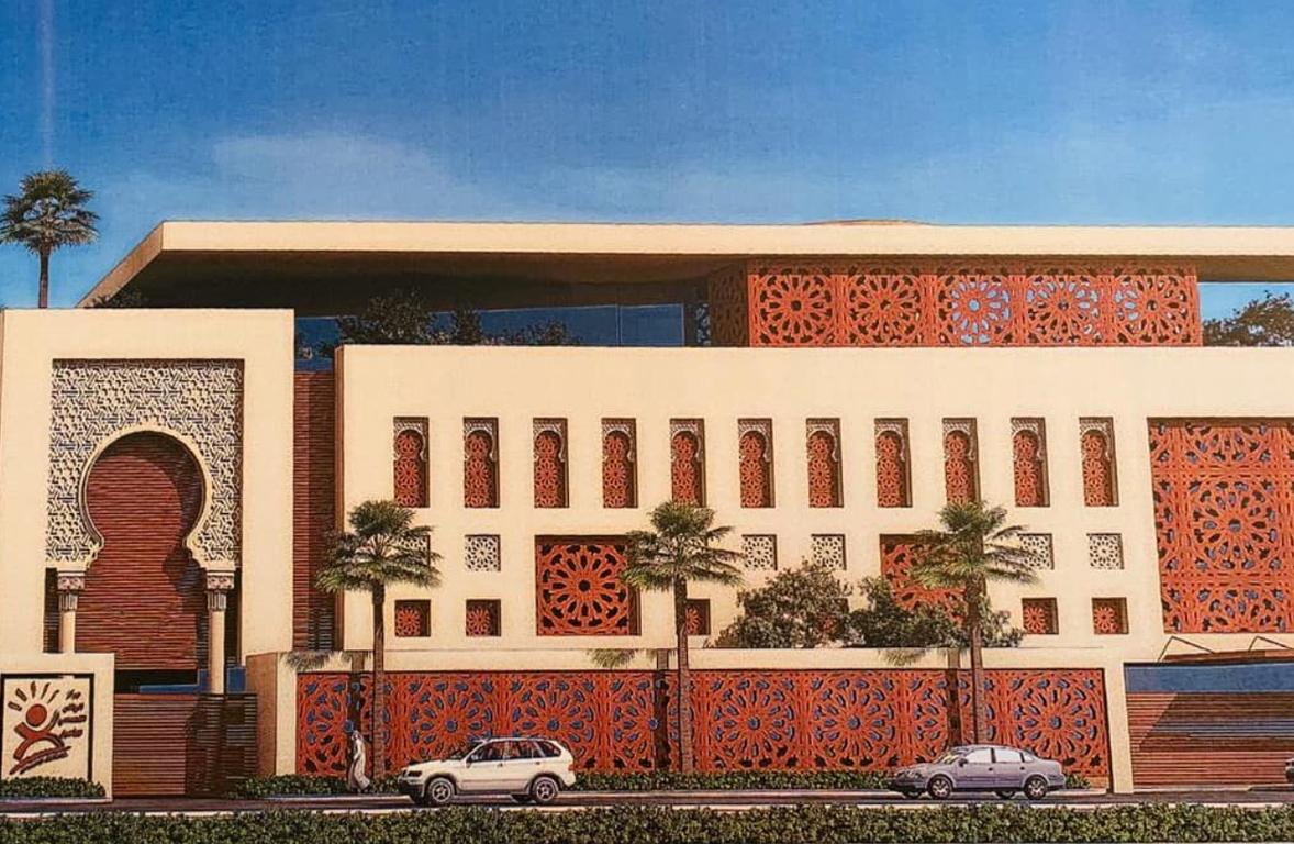 رئيس مجلس إدارة النصبان القابضة يتفقد أعمال المقر الجديد لمركز الرياض التخصصي للتأهيل